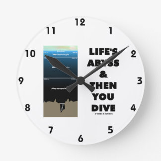 Life's Abyss And Then You Dive (Pelagic Zone) Round Clock