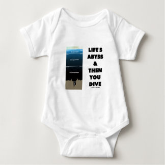 Life's Abyss And Then You Dive (Pelagic Zone) T Shirt