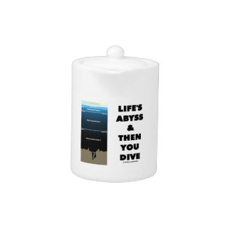 Life's Abyss And Then You Dive (Pelagic Zone) Teapot