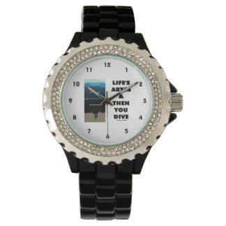 Life's Abyss And Then You Dive (Pelagic Zone) Wrist Watches