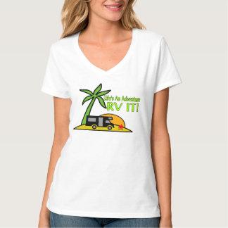 Life's An Adventure So RV It T-Shirt