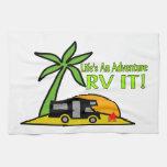 Life's An Adventure So RV It Towel
