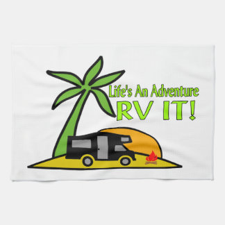 Life's An Adventure So RV It Towel
