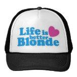 lifes better blonde hats