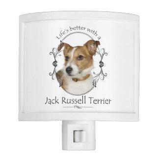 Life's Better Jack Russell Night Light