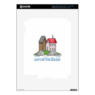 LIFES BETTER SEASIDE SKINS FOR iPad 3