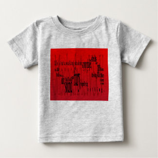 'Life's but a Walking Shadow' Macbeth Shakespeare Baby T-Shirt