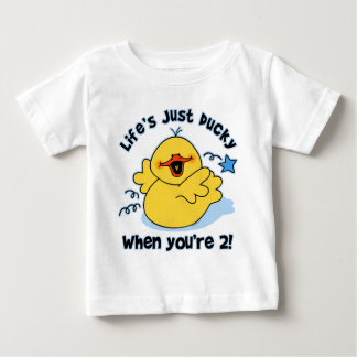 Life's Ducky 2nd Birthday T Shirt