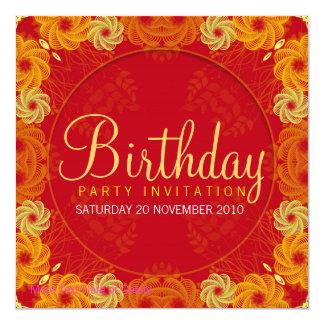 Life's Full Circle Party Birthday Invitation