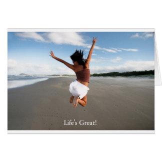 Lifes grande felicitacion