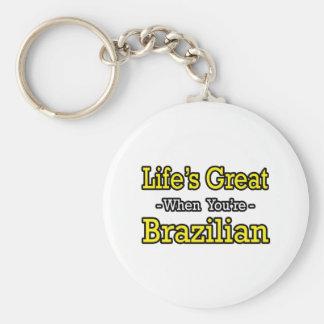 Life's Great...Brazilian Key Chains