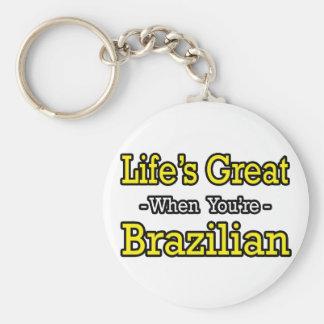 Life's Great...Brazilian Key Chain