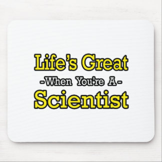 Life's Great...Scientist Mouse Mat
