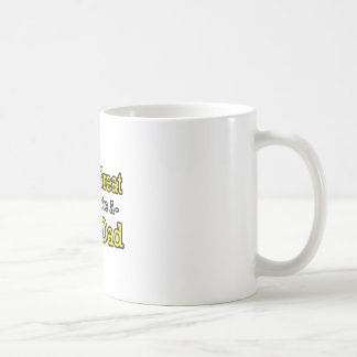 Life's Great When You're a Step-Dad Classic White Coffee Mug