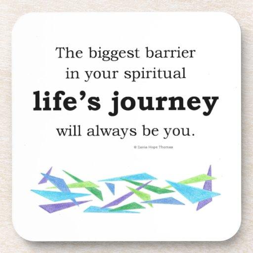 life's journey coasters