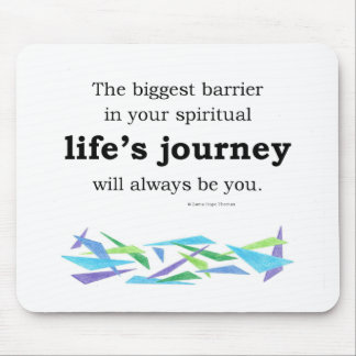 life's journey mouse pad