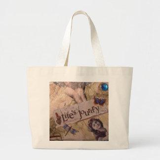 Lifes Journey Tote Canvas Bag