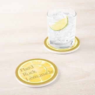 Life's Lemons & Lemonade Round Coasters