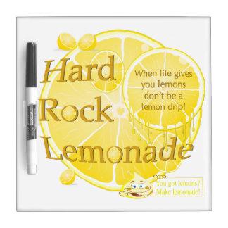 Life's Lemons & Lemonade Square Dry Erase Board