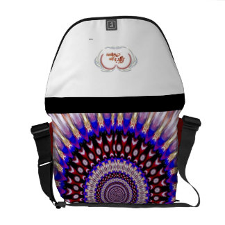 Life's little helpers courier bag