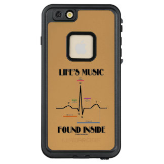 Life's Music Found Inside ECG Electrocardiogram LifeProof® FRĒ® iPhone 6/6s Plus Case