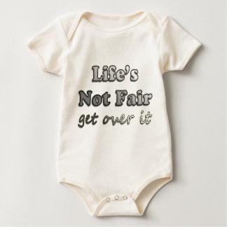 Life's Not Fair - Get Over It Baby Bodysuit