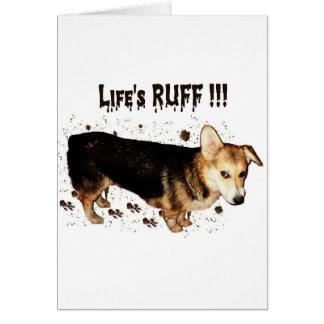 Life's Ruff - Gimli Card