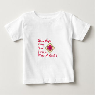 Lifes Scraps Quilting Baby T-Shirt