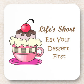 LIFES SHORT DRINK COASTERS