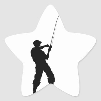 Life's short, fish hard star sticker