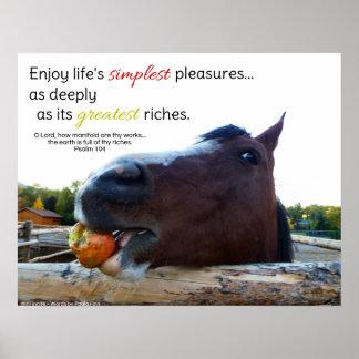 Life's simplest pleasures... poster