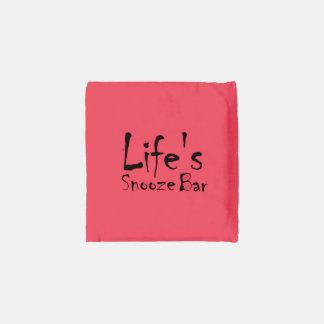 Life's Snooze Bar Reusable Bag