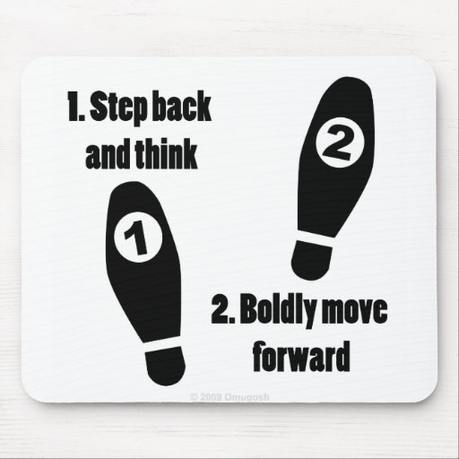 Life's Steps - Mouse Pad