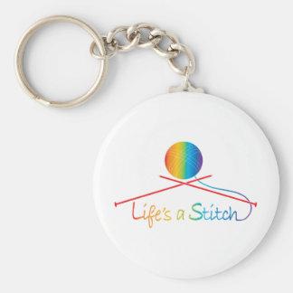 Lifes Stitch Keychains
