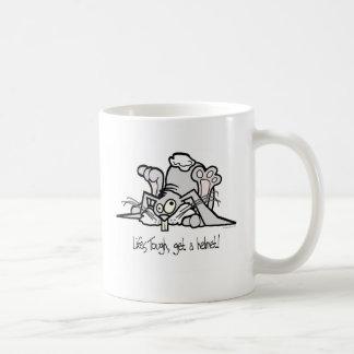 Life's Tough, Get a Helmet Coffee Mug