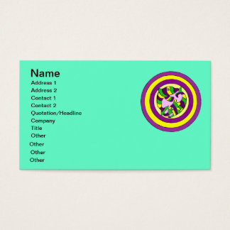 Lifesaver Dolphins into the swirl. Bullseye! Business Card
