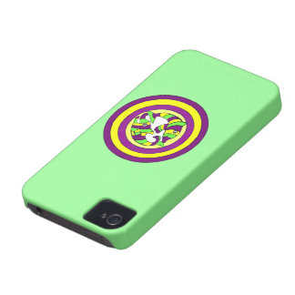 Lifesaver Dolphins into the swirl. Bullseye! iPhone 4 Case