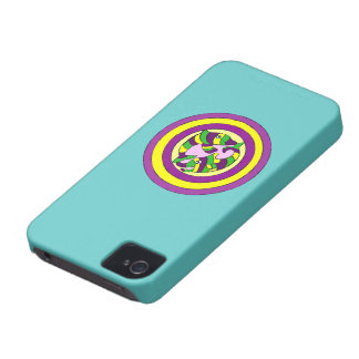 Lifesaver Dolphins into the swirl. Bullseye! Case-Mate iPhone 4 Case