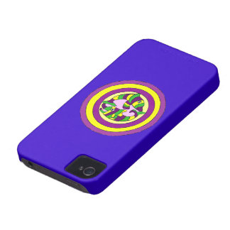 Lifesaver Dolphins into the swirl. Bullseye! iPhone 4 Case-Mate Case