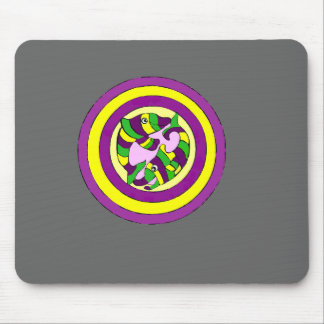 Lifesaver Dolphins into the swirl. Bullseye! Mouse Pads