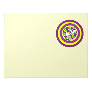 Lifesaver Dolphins into the swirl. Bullseye! Memo Note Pads