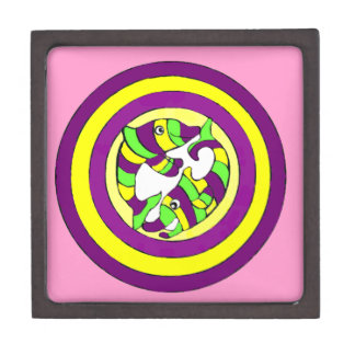 Lifesaver Dolphins into the swirl. Bullseye! Premium Gift Boxes