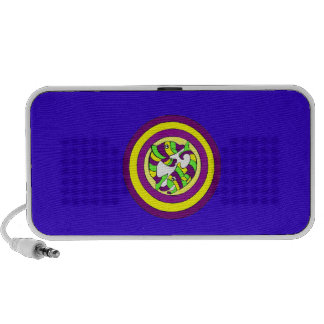 Lifesaver Dolphins into the swirl. Bullseye! Portable Speakers