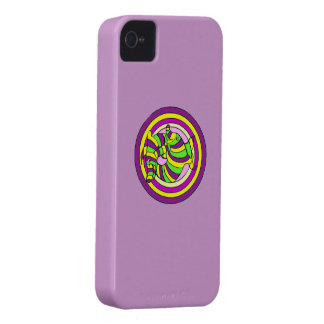 Lifesaver Dolphins into the swirl. Case-Mate iPhone 4 Case