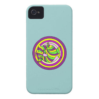 Lifesaver Dolphins into the swirl. iPhone 4 Cover