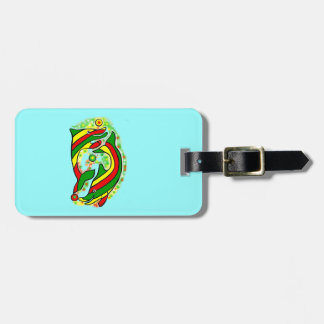 Lifesaver Dolphins Not To Be Missed Luggage Bag Tag