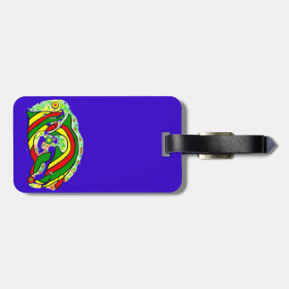 Lifesaver Dolphins Stand out Luggage Bag Tag