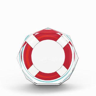 Lifesaver Float Acrylic Award
