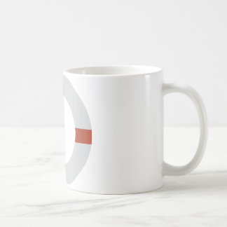 lifesaver icon coffee mug