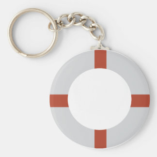 lifesaver icon keychain